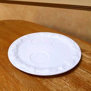 Vintage Platter, White